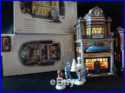 Dept 56 Christmas in the City (5 items) 5th Avenue Salon, Lafayette's Bakery, +