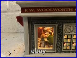 Dept 56 Christmas in the City #59249 Woolworths Cord, Box READ Description