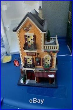 Dept 56 Christmas in the City Brand Brooklyn Bridge Amazing and huge