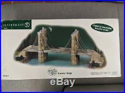 Dept 56, Christmas in the City, Brooklyn Bridge, #59247 in original packaging