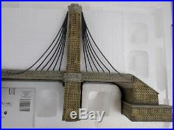 Dept 56 Christmas in the City Brooklyn Bridge Very Good Condition