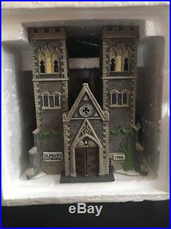 Dept 56 Christmas in the City CATHEDRAL OF ST MARK withoriginal box Rare #1217