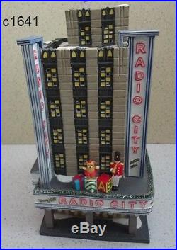 Dept 56 Christmas in the City CIC RADIO CITY MUSIC HALL retired mint in box
