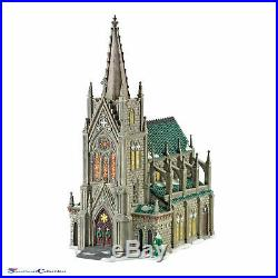 Dept 56 Christmas in the City Cathedral Of St. Nicholas LE 30th Anniv
