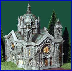 Dept 56, Christmas in the City, Cathedral of Saint Paul, #58930, impressive