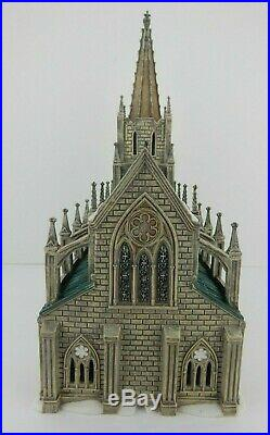 Dept 56 Christmas in the City Cathedral of St. Nicholas #59248 Good Condition