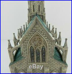 Dept 56 Christmas in the City Cathedral of St. Nicholas 59248SE Signed