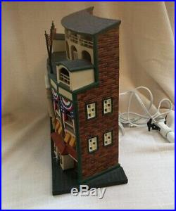Dept 56 Christmas in the City Chicago Cubs WRIGLEY FIELD 58933 Signed By Artist