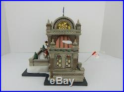 Dept 56 Christmas in the City Christmas at Lakeside Park Pavilion #59267 Works
