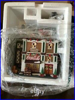 Dept 56 Christmas in the City Coca-Cola Bottling Company RARE NIB