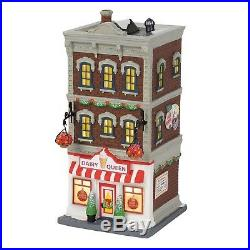 Dept 56 Christmas in the City Downtown Dairy Queen Lit Building 6000573 NEW