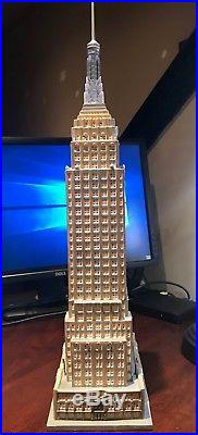 Dept 56 Christmas in the City EMPIRE STATE BUILDING 59207