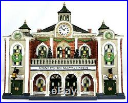 Dept. 56 Christmas in the City Grand Central Railway Station New 58881