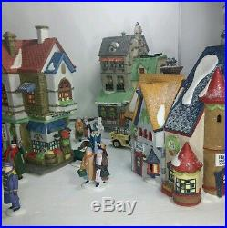 Dept 56 Christmas in the City Heritage Collection Lot