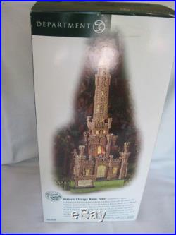 Dept. 56 Christmas in the City Historic Chicago Water Tower Historic Landmark