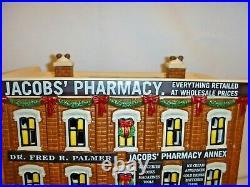 Dept 56 Christmas in the City Jacob's Pharmacy