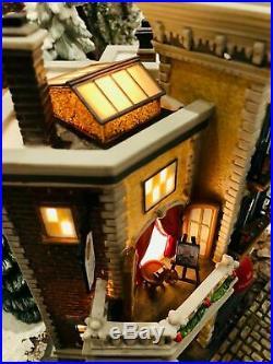 Dept 56 Christmas in the City Jamison Art Center Lighted Building NIB