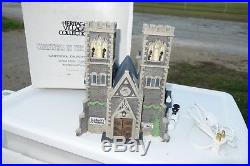 Dept 56 Christmas in the City LE Cathedral Church of St. Mark