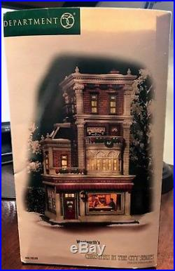 Dept 56 Christmas in the City RARE Woolworth's