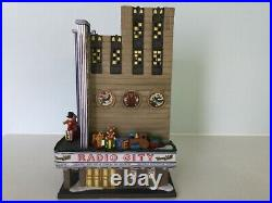Dept 56-Christmas in the City-Radio City Music Hall #58924 MIB Retired