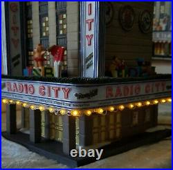 Dept 56 Christmas in the City Radio City Music Hall #58924 SEE DESCRIPTION