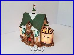 Dept 56 Christmas in the City Series TAVERN IN THE PARK RESTAURANT Illuminated