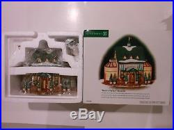 Dept 56 Christmas in the City Tavern In The Park Restaurant NYC NEW MIB