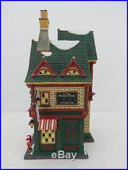 Dept 56 Christmas in the City The Candy Counter #59256 Good Condition