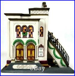 Dept 56 Christmas in the City The Majestic Theater 25th Anniversary 58913 Mint