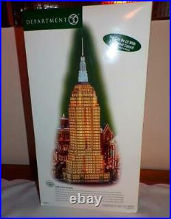 Dept 56 Christmas in the City Village EMPIRE STATE BUILDING-MINT IN BOX
