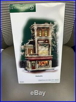 Dept 56 Christmas in the City Woolworths 56.59249. In Box Very Rare