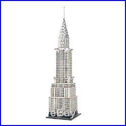Dept 56 Chrysler Building Lit Building New York US Historic New