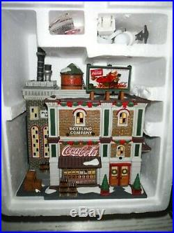 Dept 56 Coca Cola Bottling Company Christmas in the City 59258