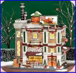 Dept 56 Coca Cola Bottling Company Christmas in the City 59258 RETIRED NIB