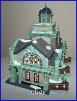 Dept 56 East Harbor Ferry Terminal 59254 Christmas In The City # 2005 Of 15,000