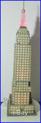 Dept 56 Empire State Building Christmas in the City 59207 Please Read Department