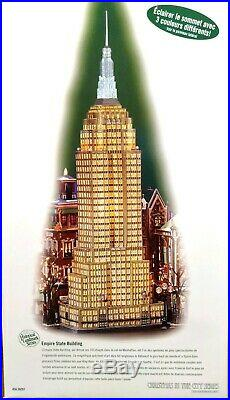 Dept 56 Empire State Building Christmas in the City #59207 Used in original box