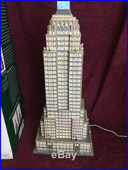 Dept 56 Empire State Building Nice