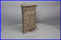 Dept 56 Flatiron Building EX/Box