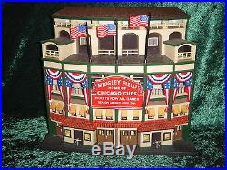 Dept 56 Legendary Ballpark Series Wrigley Field Chicago 58933