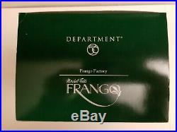 Dept 56 Marshall Field's Frango Factory Christmas in the City NIB