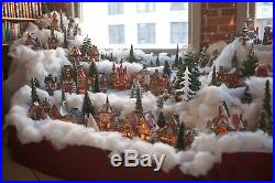 Dept 56 North Pole Series 40+ houses & pieces including Christmas in the City