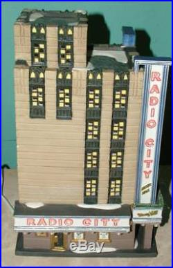 Dept. 56 RADIO CITY MUSIC HALL 58924 Christmas in the City Rockettes