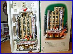 Dept 56 RADIO CITY MUSIC HALL, Christmas in City (#56.58924) With Box Department