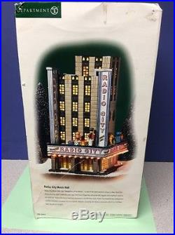Dept 56 RADIO CITY MUSIC HALL Christmas in the City CIC New York Christmas