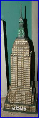 Dept. 56 RARE EMPIRE STATE BUILDING #59207 Christmas in the City