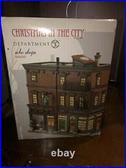 Dept 56 RARE PIECE Soho Shops Christmas in The City
