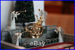 Dept 56 ROCKEFELLER PLAZA SKATING RINK christmas in the city complete with box