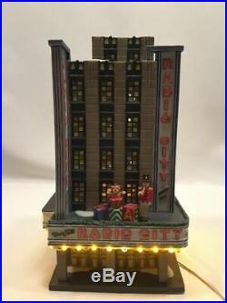 Dept 56 Radio City Music Hall With Rockettes Figure Included For Free