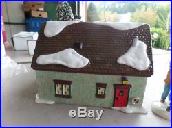 Dept 56 Snow Village Christmas Lane The Peppermint House